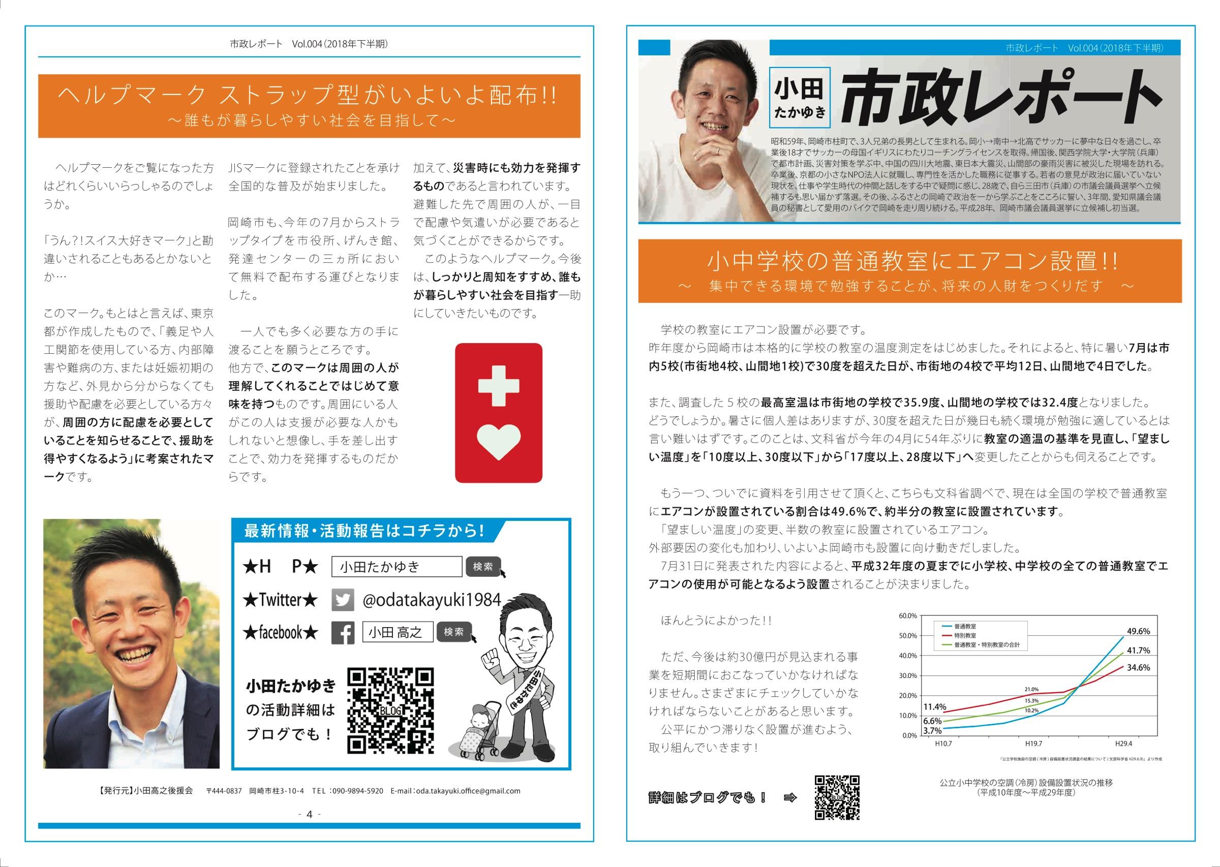 小田たかゆき通信04 表